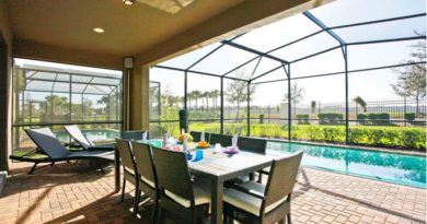 Start your Disney day early with a delicious breakfast by the pool before you hit the parks
