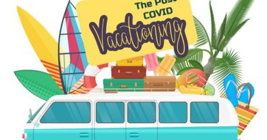 vacationing